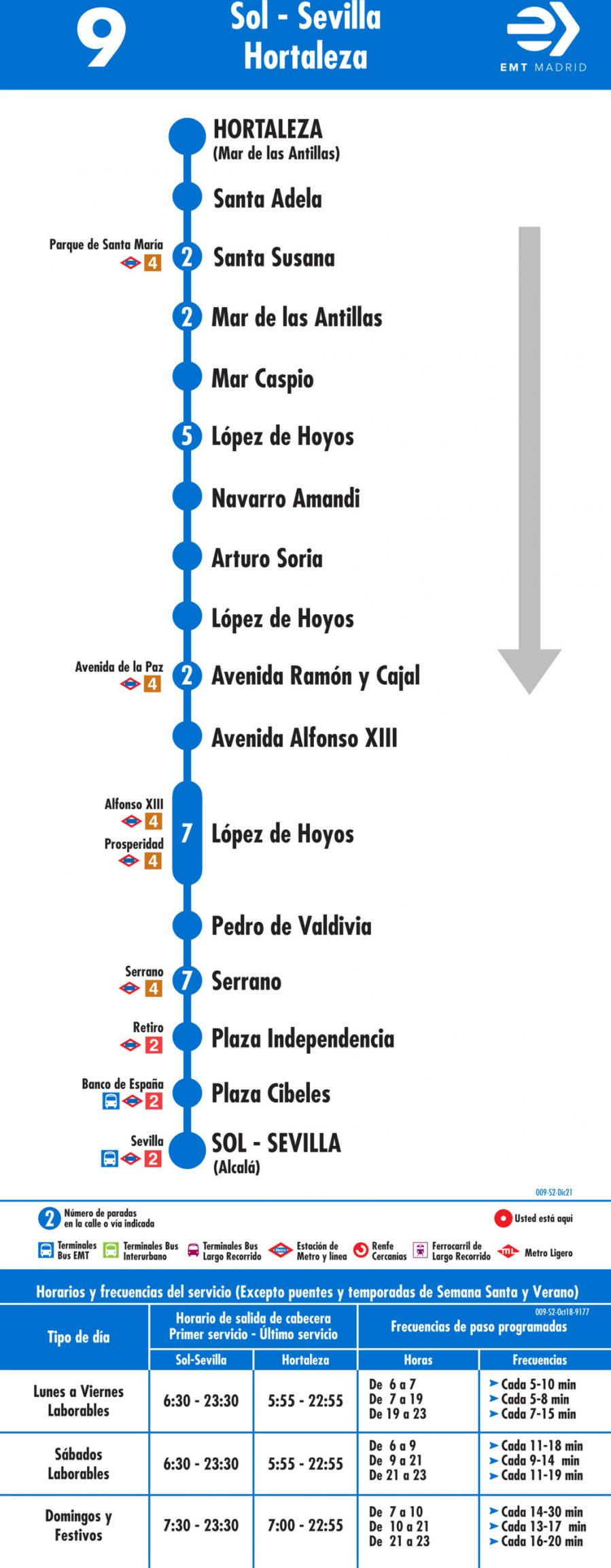 Horarios de autob s 9 sevilla hortaleza - Horario merkamueble sevilla ...