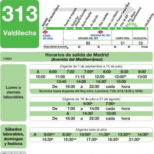Horarios de autob s 313 madrid rivas vaciamadrid - Cocinas en arganda del rey ...